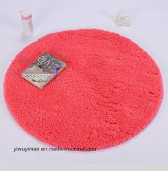 De Chinese Deken van de Vloer van de Zijde van de Polyester Ronde of Aangepaste Ruwharige Goedkope - koop of paste rond Ruwharige Deken aan