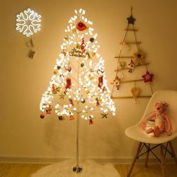 クリスマスの好意の白色光点滅LEDの木