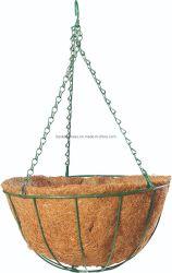 Simple Hanging Basket pour les fleurs Panier en fil pour la plantation de fleurs