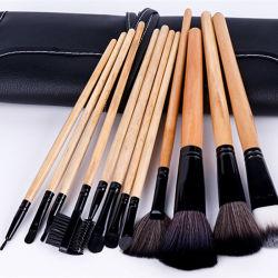 Fondation de professionnels de la Poudre brosses cosmétiques Concealer Kit avec Rainbow Gradient surligneur couleurs 10pcs maquillage Jeu de balais