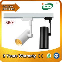 유럽 표준 COB 조광 LED 쇼케이스 스팟 조명, 의류 상점 상점 스팟 조명 LED 20W 트랙