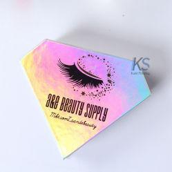 Голографическая Diamond Private Label клапанный зазор Eyelash упаковки .
