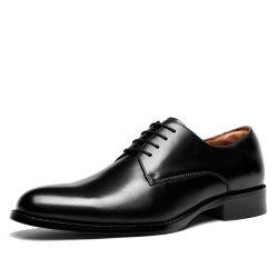 Мужчин из натуральной кожи ручной работы современных Lace Up кожаные туфли Оксфорда с насечками Официального Бизнес-повседневная обувь Esg13985