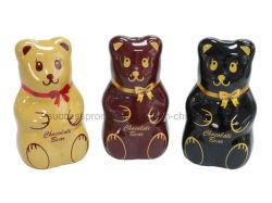 Bear geformte Metalldose für Schokolade Verpackung
