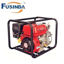 El riego agrícola de la gasolina 2 tiempos de alto flujo de alta presión de bomba de agua de cabeza baja