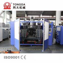 ماكينة القنينة البلاستيكية لزيت محرك Tongda Hl-12L مزدوج المحطة HDPE مع سهولة التشغيل