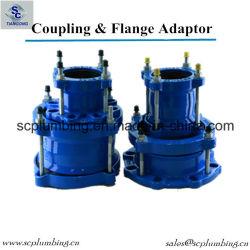 Adaptador de brida de PE de acoplamiento universal del tubo de PVC de UPVC