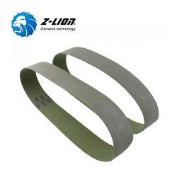 Novo Z-Lion lixa abrasiva de polimento de diamantes de resina correia para moagem seca de ladrilhos de cerâmica