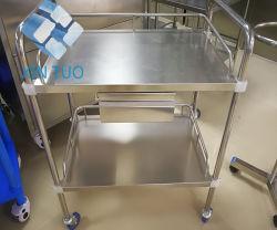 Chariot direct des prix de l'Hôpital d'usine Crash chariot d'instruments médicaux