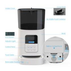 6L distributeur des aliments pour chiens et chats chargeur automatique de PET PET PET d'alimentation bol chargeur automatique par l'annexe