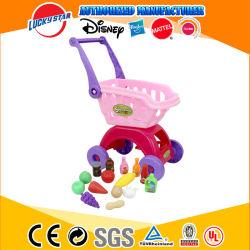 Cozinha fingir jogar mini-supermercado Carrinho de Supermercado carrinho de compras de brinquedos a conjuntos de produtos hortícolas Frutas Alimentar para Crianças