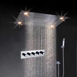 CE Changement de couleur à distance approuvé LED set robinet de douche
