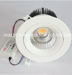 Superbright 45W 4000lm + 옥수수 속 LED에 의하여 중단되는 Downlight