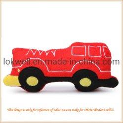 Les jouets en peluche rouge en peluche Autotruck enfants Cadeaux Voiture du véhicule