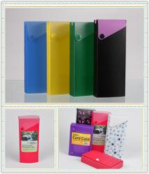 Caja de PVC Pet Cuistomized para papel, lápiz de verificación