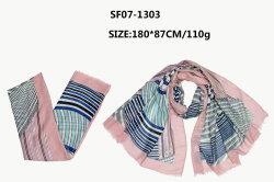 方法ヘッドバンド贅沢なデザインデジタルプリント女性の長い絹のスカーフ