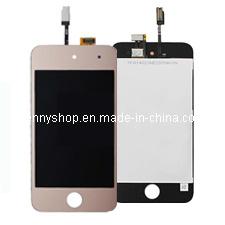 Мобильный телефон Gold ЖК-дигитайзер для iPod touch 4
