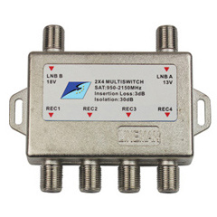 Multi Satellitenschalter, Disqec Schalter 2x4 (SUX-24A)