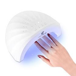 مصباح مجفف عالي الدهن LED بتقنية LED بتقنية LED بتقنية LED بتقنية استشعار تلقائي واحترافي، بقدرة 48 واط مع 3 إعدادات للموقت 30 ثانية، و60 ثانية، و120S