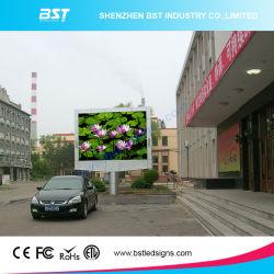 P6mm publicité de plein air pleine couleur Affichage LED écran LED mur vidéo 1r1g1b