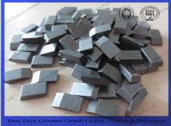 89 HRA 마모 부품 시멘트형 카바이드 톱 블레이드 팁 내보내기
