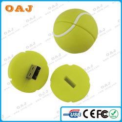 Ткань из чесаного Best-Quality ПВХ USB флэш-памяти для подарка формы шаровой опоры рычага подвески