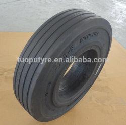 Pour pneu solide spécial Tailers dans les aéroports, ports maritimes et de la station, 4.00-8/3,75 Pneus en caoutchouc
