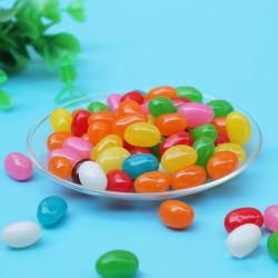 Gosto de frutas de cores do arco-íris geleia macio Feijão