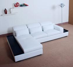 Lederner Ecksofa-/Sofa-Entwurf (AL222)