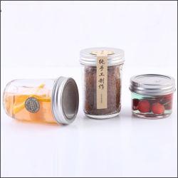 Organização de armazenamento inicial decorar Cozinha Spice boiões de vidro Recipiente de uso doméstico