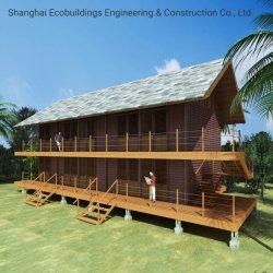 Design Livre de alta qualidade de aço do medidor de luz a vida de utilização longo Prefab House Construções prefabricadas Resort Hotel