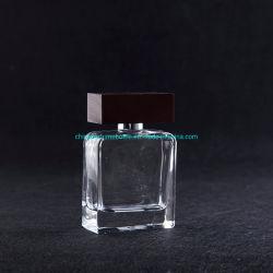 100ml de regelmatige Duidelijke Fles van het Glas van het Parfum van het Pakket van het Ontwerp Kosmetische Navulbare