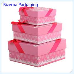 Bijoux en faveur de mariage un emballage cadeau Box