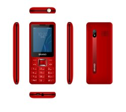 2,4 pulgadas de pantalla característica de Radio FM inalámbrico Teléfono móvil Dual SIM Card 1800mAh Teléfono Teléfono móvil para Tecno para Nokia
