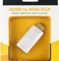 HDMI à un mini-VGA + Audio Converter