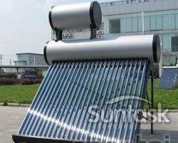 Non-Pressure compacto aquecedor de água solares térmicos