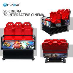 Guangzhou Venta caliente XD Sumilator Cinema 7D Cine 9D de películas