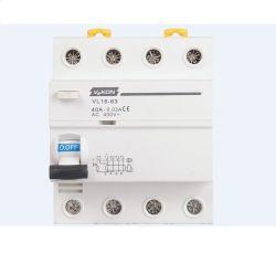 Vl16-63 RCCB electromagnético y electrónica