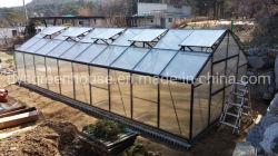 13 x 20 피트 큰 크기 정원 꽃 사용 Rdgb32406 (10mm)를 위한 농업 Hydroponic 시스템 알루미늄과 폴리탄산염 건축재료 녹색 집