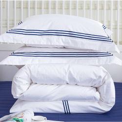 El lujo 330TC Cama Tamaño King 4pcs funda de almohada la ropa de cama Ropa de Hotel (JRD165)