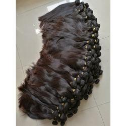 Cheap 100% non naturel synthétique brut Remy vierge Tissage de cheveux brésiliens Bundles Extension de cheveux humains