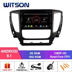 Mitsubihi Pajero 2017年のCPUのためのWitsonのクォードコアアンドロイド9.1車DVD GPS: クォードコアPx30皮質A35 1.5GHzの頻度