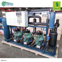 Охладитель с воздушным охлаждением воздуха в холодильной машине простой системы охлаждения трубки компрессора для установки в стойку для хранения