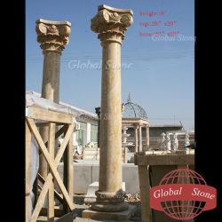 Jardim pilares e colunas de mármore decorativa (GSCL-102)