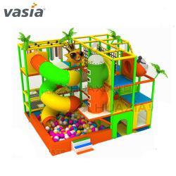Vasiaの多彩なスライドの冒険の幼児のPreshchoolのプラスチック屋内運動場