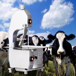 1500W cuisine commerciale de poissons osseux de la viande électrique de la bande a vu la viande bovine congelée Machine de découpe de Cube de vache