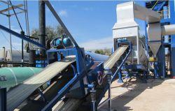 Usine d'asphalte Mini-usine de mélange de bitume Hot Mix la construction de routes