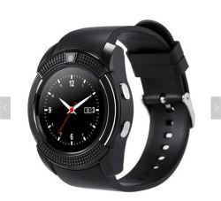 Polshorloge van het Scherm van de Aanraking van Bluetooth Smartwatch van het Horloge van het horloge het Slimme met de Groef van de Kaart Camera/SIM, Waterdicht Slim Horloge V8