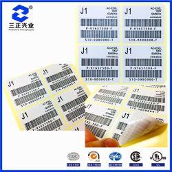 Design personnalisé impression Papier Étiquette de code à barres à transfert thermique Zebra
