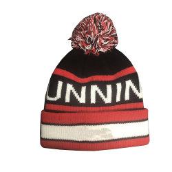 Chapeau tricoté 100% acrylique avec le logo de l'usine chinoise